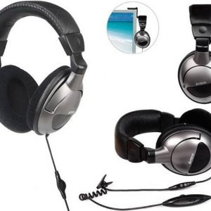 A4TECH HS-800 Stereo Gaming Headphone Mic in Line – Grey