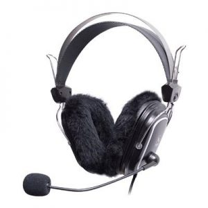 A4TECH HS-60 Seasonal Flam Headphone with Stick Mic – Black