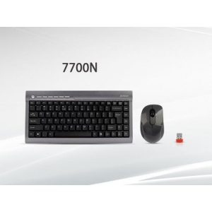 A4Tech Wireless Keyboard & Mouse Mini Set 7700N Padless