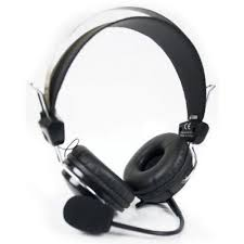 A4TECH HS-7P Comfortfit Stereo Headphone with Stick Mic – Black