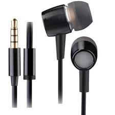 A4TECH MK-750 Metallic in Earphone with Mic – Black/Silver/Gold