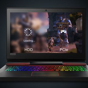 Lenovo Legion Y920 Pro Level Gaming Laptop – 7th Gen Ci7 QuadCore 8MB Cache – 16GB 1TB HDD + 512GB SSD 8-GB NVIDIA GeForce GTX 1070 17.3″Full HD IPS LED + NVIDIA G-SYNC technology JBL Sound Speakers VR Ready W10 Backlit KB