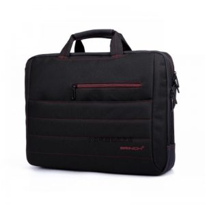 Brinch Bag 213 Red Black/Green Black (15.6″)