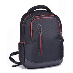 Brinch Bag BW-200 Laptop Backpack Black Red (15.6″)
