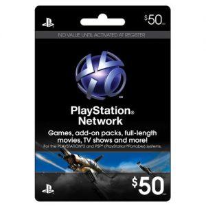 PSN Live 50$ USA Card