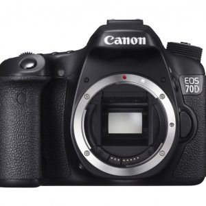 Canon EOS 70D 20.2 MP Wi-Fi DSLR Camera Black (Lens Options)