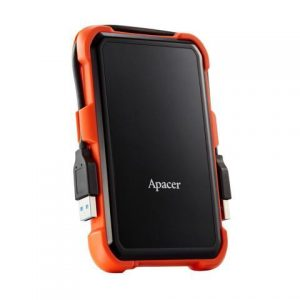 Apacer – 1 TeraByte USB 3.1 Gen1 AC630 Military-Grade Shockproof Portable Hard Drive