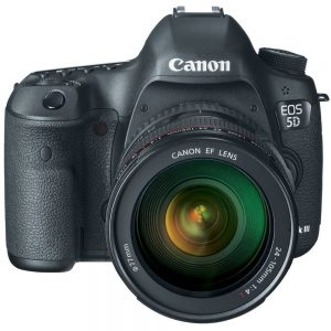 Canon EOS 5D Mark III 22.3 MP DSLR Camera Black (Lens Option)