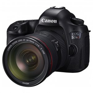 Canon EOS 5DS R 50.6 MP DSLR Camera Black (Lens Option)