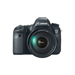 Canon EOS 6D 20.2 MP Wi-Fi DSLR Camera Black (Lens Options)