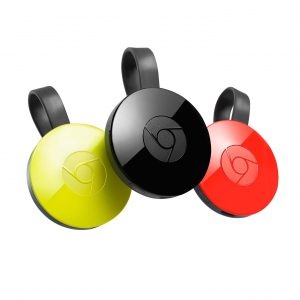 Google ChromeCast 2 HDMI Media Streaming Player (2nd Gen)
