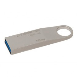 Kingston USB – 16GB G2 – 3.0 Data Traveler Flash Drive (Silver)