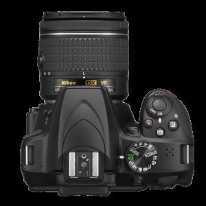 Nikon D3400 24 MP 18-55mm VR Lens DSLR Camera Black