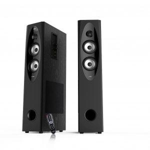 F&D T60X Tower Bluetooth Speakers (Black)