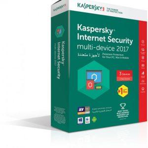 Kaspersky Antivirus Internet Security 2017 (4 User 1 Year)