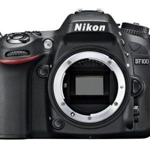 Nikon D7100 24 MP 18-140mm Lens Wi-Fi DSLR Camera Black