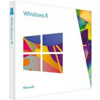 Microsoft Windows 8 Single Language 32/64 Bit DVD