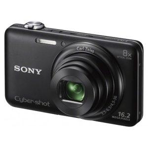 Sony CyberShot DSC-WX80 16.2 MP Wi-Fi Digital Camera Black