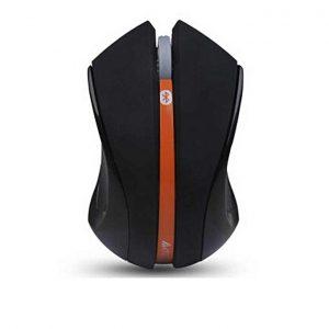 A4Tech G7-310N Padless V-Track Wireless Mini Mouse (Black + Orange)
