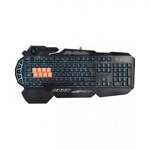 A4TECH Bloody Bloody B318 8-Key Light Strike Mechanical Gaming Keyboard – Black (Brand Warranty)