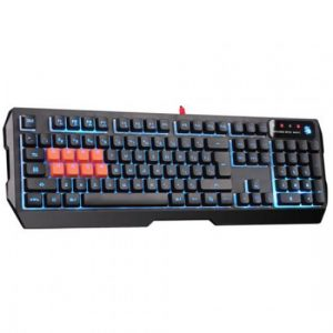 A4TECH Bloody B188 – 8 Light Strike Mechanical Gaming Keyboard – Black